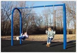 od arch post swing playground equipment for commercial