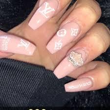 updated 30 louis vuitton nail designs