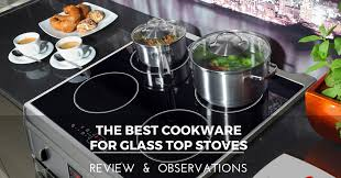 cookware for glass top stoves