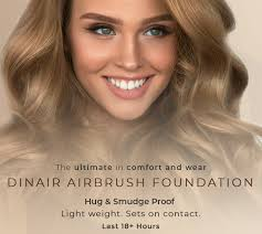 airbrush foundation by dinair