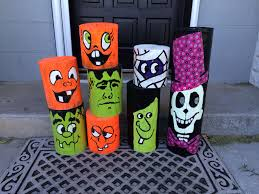 Halloween Decorations Made Out Of Fence Post By Ann Protz Halloween Wood Crafts Halloween Porch Decorations Halloween Yard Decorations