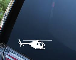 Helicopter Stickers Etsy