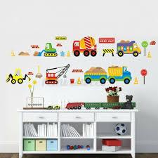 Truck Car Builder Vehicle Removable Wall Decals Decor Kids Sticker Nursery Art For Sale Online Ebay