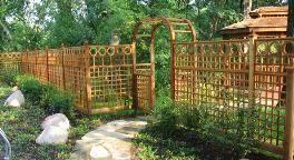 Garden Fencing Garden Arbors Pergolas Gates Privacy Lattice Planter Boxes Trellis By Brattleworks