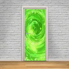 Rick Morty Portal 3d Door Wrap Decal Wall Sticker Home Decor Mural Art D264 Ebay