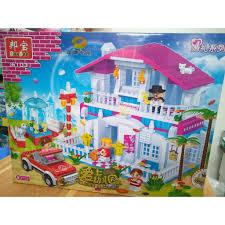 Bộ đồ chơi Lắp ráp lego 6103 Nhà Hàng cao cấp dành cho bé gái
