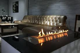 ceiling mounted ethanol fireplace