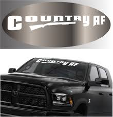 Custom Windshield Banner Jeep Page 7 Topchoicedecals