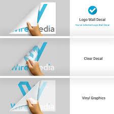 Custom Logo Wall Decals Top Quality Stickeryou