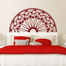 Headboard Wall Sticker Uk Art King Size Decal Twin Design Removable Queen White For Bedroom Picket Fence Vamosrayos