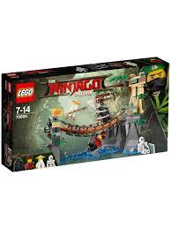 Đồ chơi vượt cầu hiểm trở Lego Ninjago 70608 (312 chi tiết), Giá ...