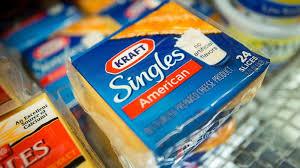 kraft singles is 1st food allowed to