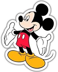 Amazon Com Mickey Mouse Disney Vynil Car Sticker Decal 4 Automotive