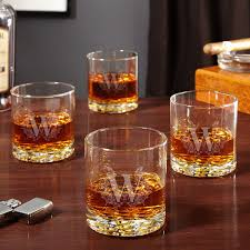 highbury etched whiskey glasses