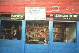 kerosene and liquid petroleum gas