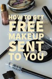 get free makeup sles and pr packages