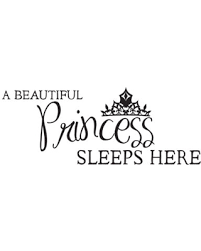 Sales For A Princess Sleeps Here Wall Decal Dana Decals