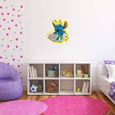 Amazon Com Lilo And Stitch Wall Graphic Decal Sticker 25 X 23 Home Kitchen