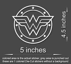 4 X Wonder Woman Vinyl Decal Sticker Laptop Tablet Truck Window Styl Stickerboy Skins For Protecting Your Mobile Device