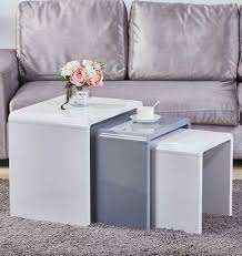 set of 3 nesting tables side table