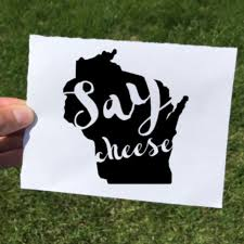 Vinyl Decal Say Cheese The Local Store