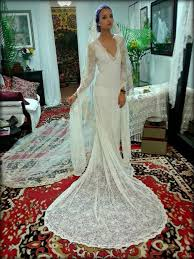 french lace wedding dress bridal gown