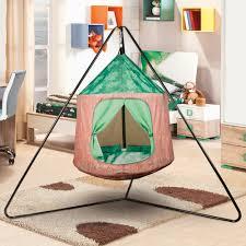 Crckt Kids Indoor Outdoor Hanging Tent 350lb Capacity 43 3 X 70 9 Walmart Com Walmart Com