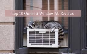 top 10 quietest window air conditioners