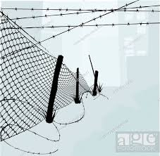 Chain Link Fence And Barbed Wire Vector Illustration Stock Photo Picture And Low Budget Royalty Free Image Pic Esy 001145611 Agefotostock