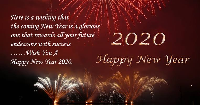 Image result for happy new year 2020 quotes""