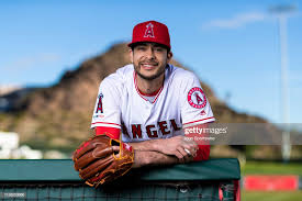 Los Angeles Angels pitcher Noe Ramirez poses for a portrait during ...