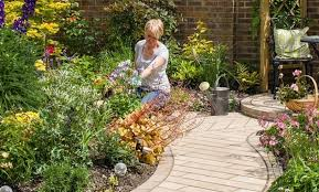 garden path paving edging and stepping