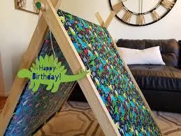 Print Canopy Indoor Camping Tent Play Tent Childrens Tent Etsy