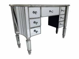 venetian glass mirrored dressing table