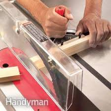 How To Use A Table Saw Cross Cutting Diy