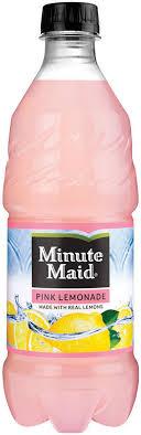 minute maid pink lemonade 20 oz