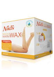 nad s natural hair removal warm body wax