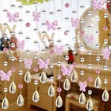 beads curtains diy window door curtain