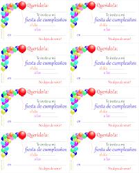 Modelo Tarjetas De Cumpleanos Para Imprimir Abcpedia