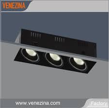 heads cob led recessed grille