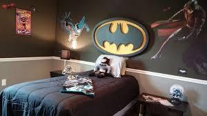 Creating A Batman Bedroom For Your Kids Batman Room Decor Batman Room Batman Bedroom