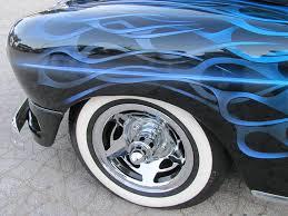 Classic Car Blue Flame 4 Photograph By Anita Burgermeister