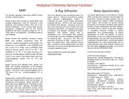 PPT - The University of New Mexico Analytical Chemistry Service Facilities  NMR X-RAY DIFFRACTION MASS SPECTROMETRY PowerPoint Presentation - ID:257401