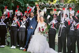 disney wedding gets buckeye surprise