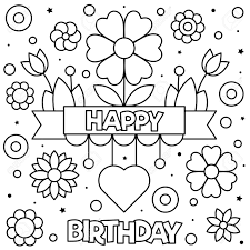 Remarkable Birthdayg Book Image Inspirations Happy Page Black And White  Vector Illustration Personalized Etsy Mickey Mouse – Stephenbenedictdyson