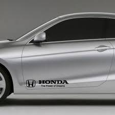 Product Honda The Power Of Dreams Decal Sticker Logo Emblem Vtec Civic Accord Integra