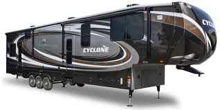 heartland cyclone toy hauler rvs