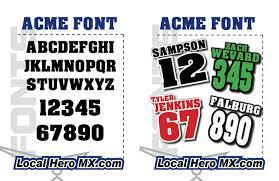 local hero mx view fonts