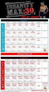 insanity max 30 calendar positively