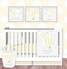 hot air balloon nursery bedding